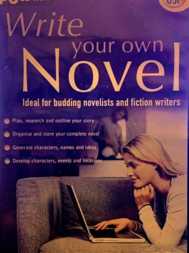 Write Your Own Novel For Budding Novelists And Fiction Writers PC CD ROM