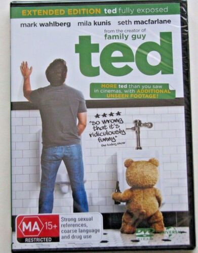 TED EXTENDED EDITION...BRAND NEW AND SEALED REGION 4 DVD MARK WAHLBERG. MILA