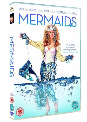 MERMAIDS (1990) DVD (Cher, Winona Ryder) Region 2  New & Sealed