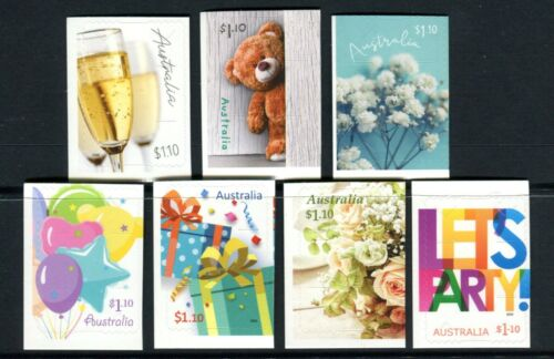 2020 Joyful Occasions - MUH Set of 7 Booklet Stamps