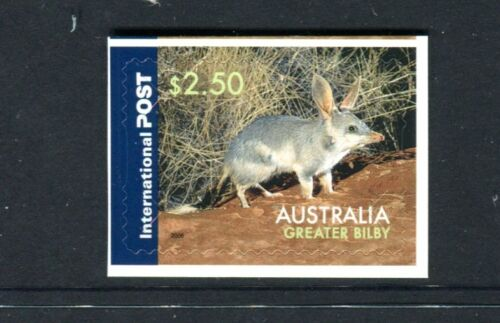 2019 The Greater Bilby - $2.50 International  Booklet Stamp