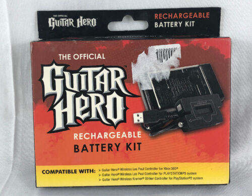 The Official Guitar Hero Rechargeable Battery Kit - Brand New (Y3)