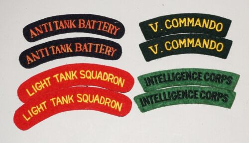 Coldstream Guards WW2 Repro Shoulder Titles Patch Badge Flash British Army New