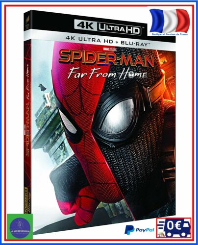 DVD Blu-Ray Spider-Man Far From Home 4K Ultra HD Action Science Fiction Cinema