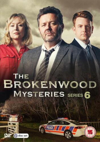 The BROKENWOOD MYSTERIES - Complete Series 6 DVD Region 4 (AUS) New & Sealed.
