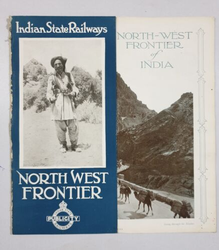 NORTH -WEST FRONTIER - 1930's Illustrated Guide INDIAN STATE RAILWAYS