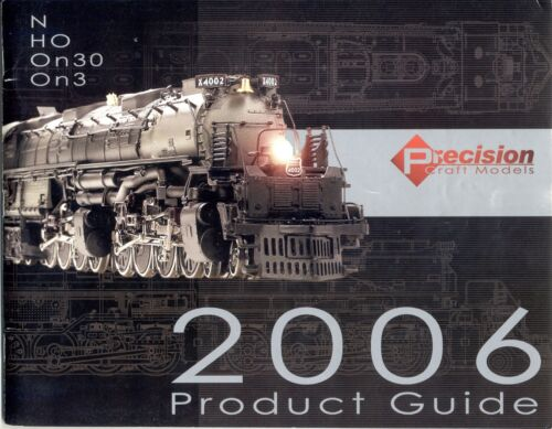 catalogo PCM Precision Craft Models 2006 Product Guide N HO OnE0 On3  E     cc