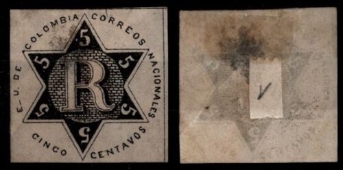 COLOMBIE : Timbre n°1, Neuf SG = Cote 175 € / Lot Timbre ETRANGER