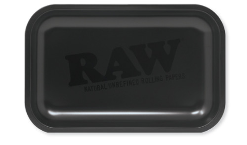 RAW Murder'd Rolling Tray Matte Black 11x7 NEW 2020 LIMITED Edition- RAWthentic!