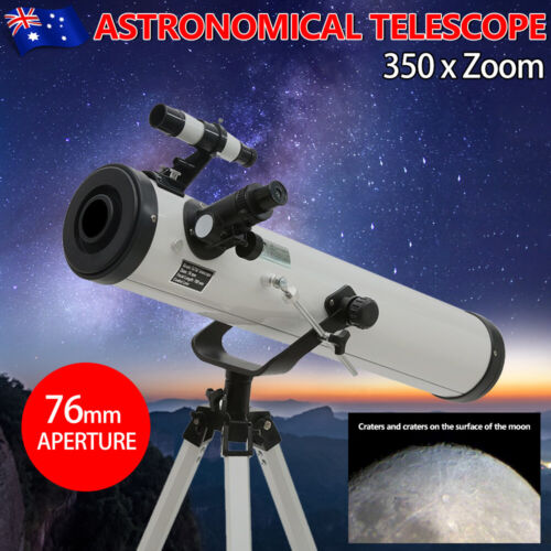 350x Zoom Telescope 114mm Aperture Astronomical High Resolution Night Vision