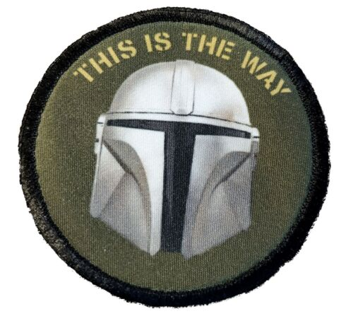 Mandalorian This is the way Morale Patch Tactical Military Army USA  StarwarsArmy - 48824