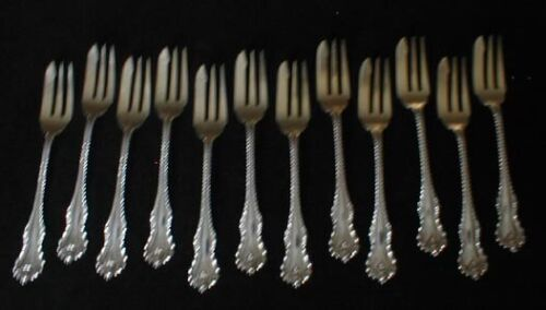 Dominick and Haff MAZARIN pastry forks - set of 12