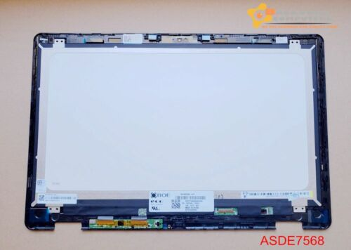 """15.6"""" 1920x1080 FHD LCD Touch Screen Assembly for Dell Inspiron 15 7568 w/ Bezel"""