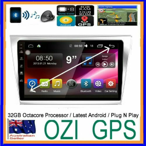 for TOYOTA AURION 2006-11 GPS APPLE CARPLAY ANDROID AUTO HEAD UNIT +CAM FACT FIT