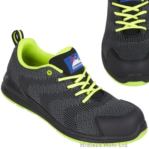Himalayan Safety Trainer S1P ESD Metal Free Black Composite Toe 4341