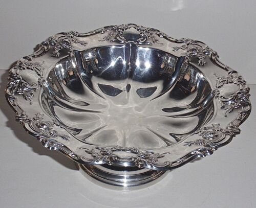 "Towle Grande Baroque Large 11"" Scalloped Centerpiece Bowl, Superb!"