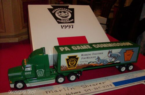 PENNSYLVANIA GAME COMMISSION 1997 TRACTOR TRAILER WINROSS TRUCK
