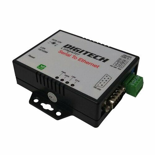 High Quality Durable Serial to Ethernet Converter (RS232/422/485 to TCP/IP)