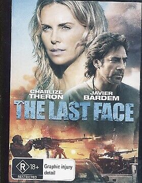 The Last Face (DVD, 2017) - Charlize Theron, Javier Bardem, Brandon Phillips