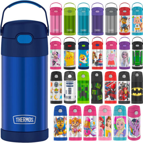 Thermos 12 Oz. Kid's Funtainer Vacuum Insulated Stainless Steel Water Bottle