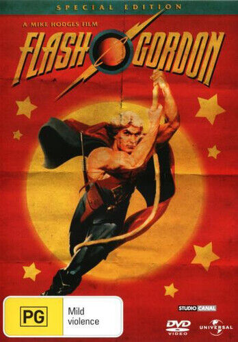 NEW Flash Gordon (1980) (Special Edition) DVD Free Shipping