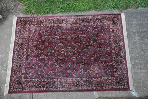 KARASTAN RUG PATTERN #785 RED SAROUK 8.8x12 Made In USA #544