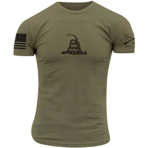 Grunt Style Gadsden Basic T-Shirt - Military Green <br/> Exclusive Seller of Grunt Style on eBay