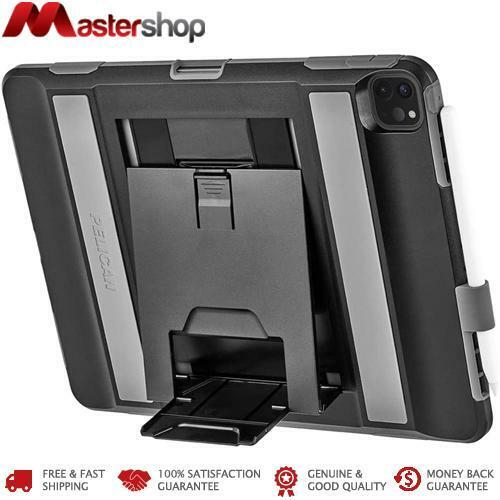 Pelican Voyager Rugged Case with Kickstand iPad Pro 12.9 3rd & 4th Gen 2020 - Bl