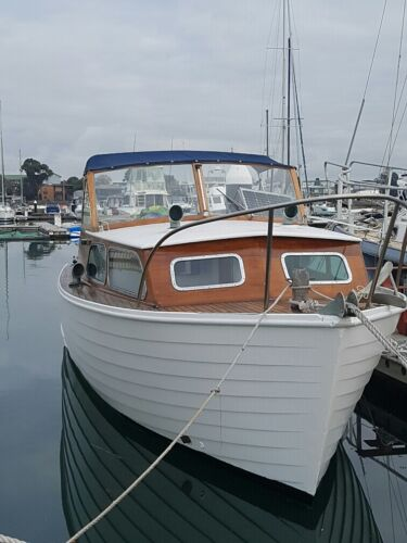boat - 1966 Halvorsen 25 ft. skiff. Well maintained Looks Great <br/> $35,000