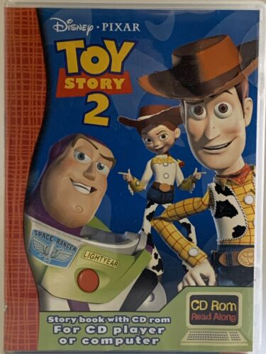 Toy Story 2 Read A Long  2000 Cd Rom PC Sealed Childrens Learning