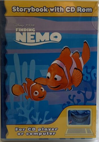 Finding Nemo Storybook And Cd Rom Cd PC 2000 Sealed Childrens Learning And Fun