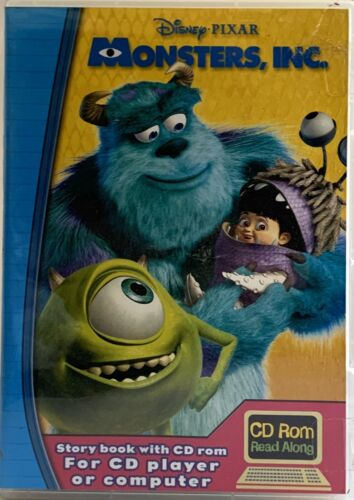Monsters Inc Storybook And CD Rom PC Mac Cd 2001
