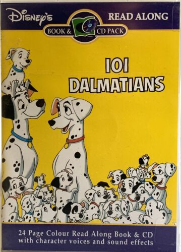101 Dalmatians Read A Long CD And Book Sealed Childrens Learning