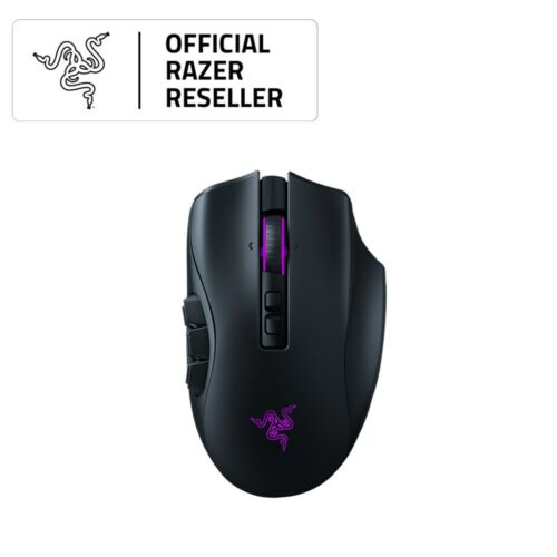 Razer Naga Pro Wireless Optical Gaming Mouse - RZ01-03420100-R3A1