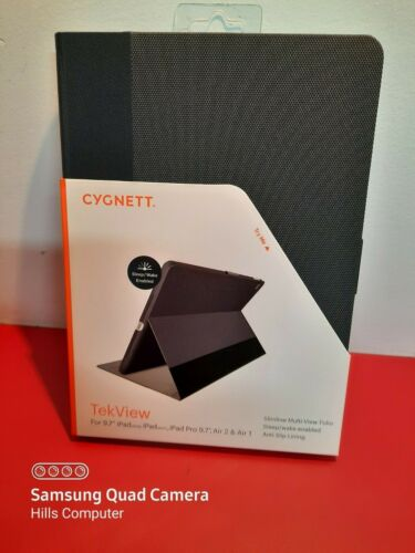 "CYGNETT TekView Multi-View Folio for 9.7"" iPad (2017, 2018) iPad Pro Air 2 Air 1"