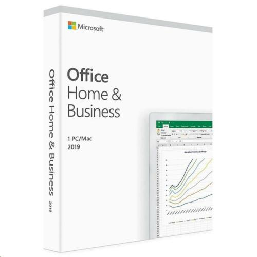 Microsoft Office Home and Business 2019 1 License for PC / Mac T5D-03301