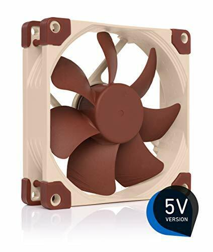 Noctua NFA9 5V Premium Quiet Fan with USB Power Adaptor cable 3Pin 5V Version...