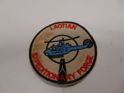Military Patch Old Vietnam Era Laotian Expeditionary Force