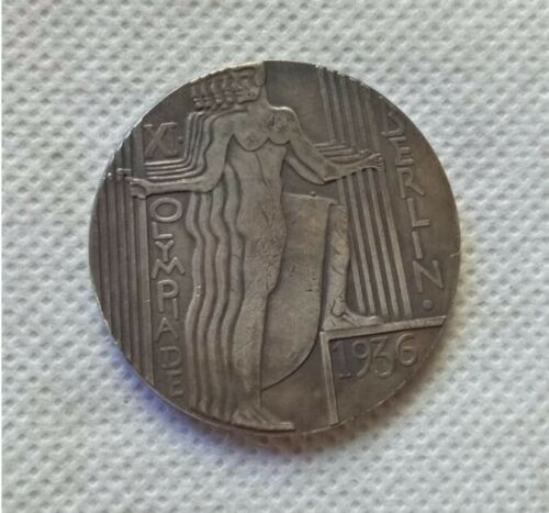 Piece Deutsches Reich 1936 Olympiques Medal Berlin 1936 Medaille Jeux WW2 Coin