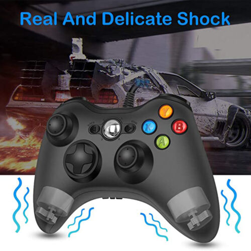 Double Vibration USB Wired XBOX 360 Controller Gamepad for Xbox 360/360 Slim/PC