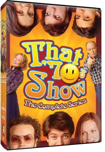 THAT 70S SHOW COMPLETE SERIES 1-8 DVD BOXSET 24 DISC NEW & SEALED 70'S