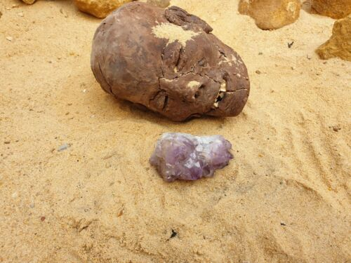 Rare Antique Ancient Egyptian Amethyst precious Stone Protection Healing 2480 BC