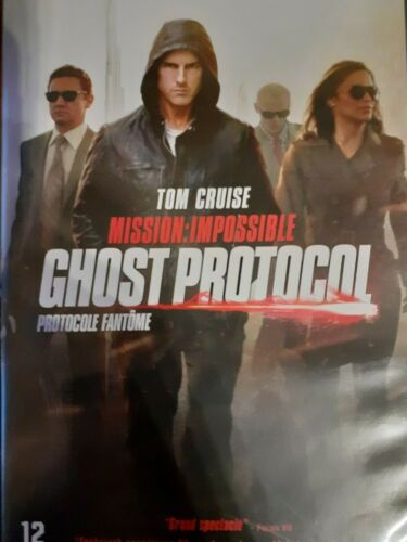 C36 / DVD MISSION IMPOSSIBLE GHOST PROTOCOL FANTOME Tom CRUISE