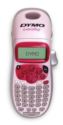 DYMO LetraTag Personal Label Maker - PINK - BRAND NEW - FREE SHIPPING