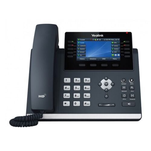 Yealink T46U IP Phone 4.3 Colour LCD Backlight 16 Line Dual USB POE Support