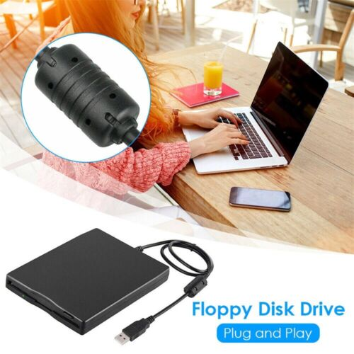 """1.44MB 3.5"""" inch USB External Floppy Disk Drive Diskette FDD for Laptop PC NEW"""