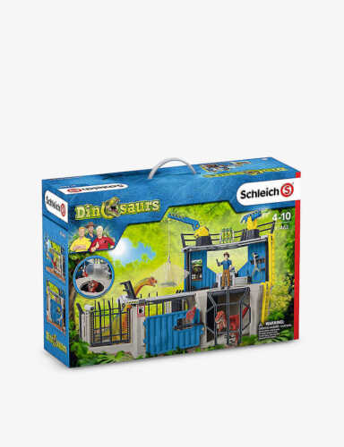 SCHLEICH  41462 Large Dino Research Station strong tough  Schleich  ***<><