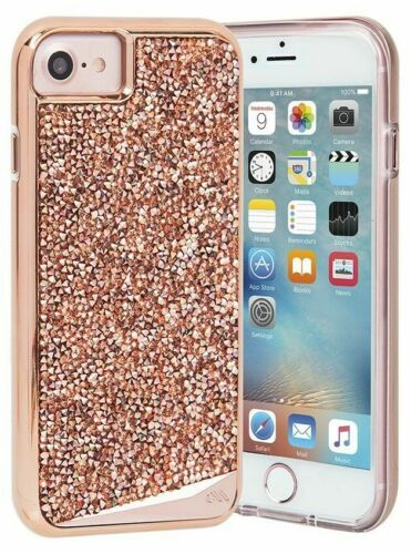 iPhone SE 2020 Bling Case-Mate - Rose Gold NEW 19.99