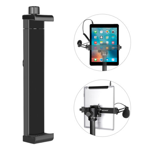 Neewer iPad Mount holder Tablet Tripod Mount Adapter Holder for iPad Tablet PC