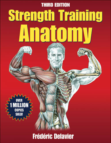 NEW Strength Training Anatomy By Frederic Delavier Paperback Free Shipping